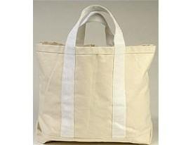 Custom Faberkin Canvas Coal Bag